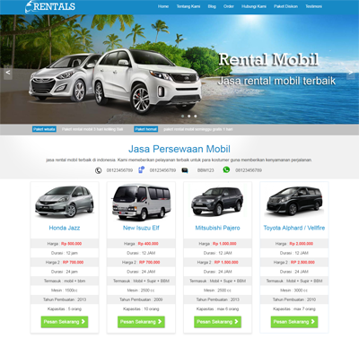 Rentals wordpress themes